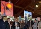 Festa dell'amicizia tra uomini e falchi - Inaugurazione - Panoramica dei lavori in mostra