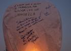 Festa dell'amicizia tra uomini e falchi - Volo delle lanterne